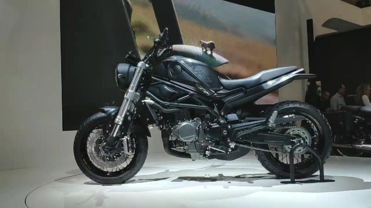 Concept Benelli Leoncino 800